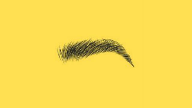 plucking-facial-hair