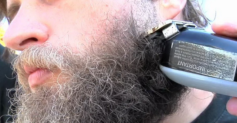 praying-behind-a-man-who-shaves-off-his-beard