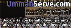 UmmahServe.com - Hajj on behalf of your parents - alive or deceased